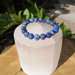 Bracelet lapis lazuli 9 -...