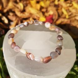 Bracelet Agate du botswana...