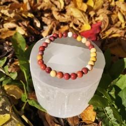 bracelet mokaite 6mm