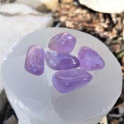 pierre roulée améthyste