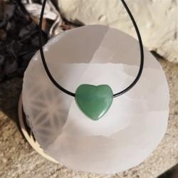 cœur aventurine verte