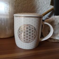 mug fleur de vie