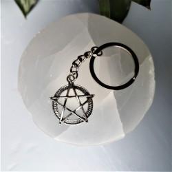 porte clef pentagramme