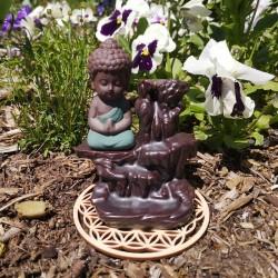 Brule encens à refoulement bouddha