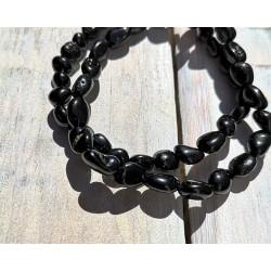 bracelet tourmaline noire nugget