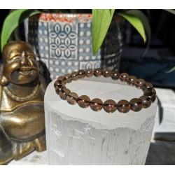 bracelet quartz fumé vertus