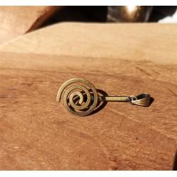 Porte donut spirale bronze