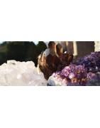 Géodes d'améthyste et Druses | Minesenstiel Boutique lithothérapie